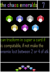 Undercards The Chaos Emeralds by shadowNightmare13