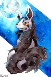 Mightyena by PikaChoupi