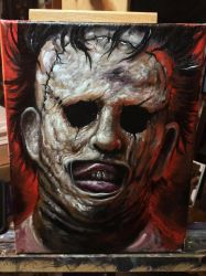 Leatherface  by zackdunn89