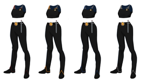 ISS Vanguard Female Officers Uniform variant 5 by docwinter