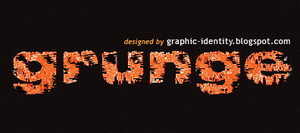 Grunge Text Effect 3 by GraphicIdentity