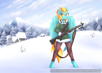 War in the crystal mountains [C] by Scarlet-Spectrum