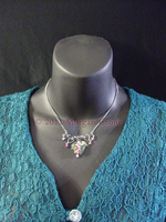 Grape Vine and Leaf Necklace by MorganCrone