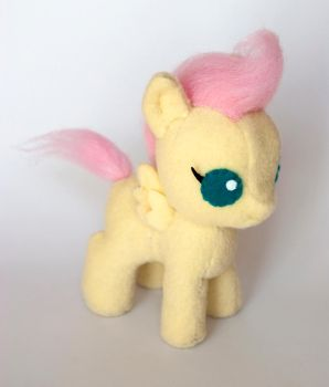 Baby Fluttershy Plush: Final Version by ivy-cinder