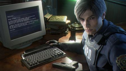 Resident Evil 2 Remake Lexington typewriter USB by xGamergreaserx