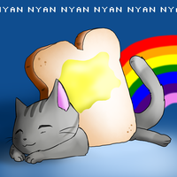 Nyan Nap Time by alexyoshida