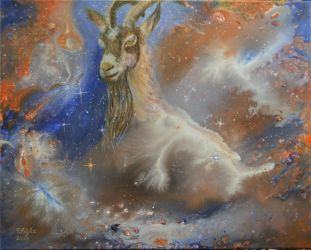 Cosmic Goat by pfeight