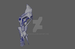 Hand preview of robot in 3D!!! by RyugaSSJ3