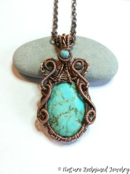 Turquoise Tendrils by NatureReclaimed