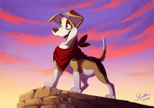 Adventure Doggo! by Skailla