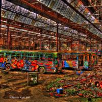 The Tram Shed by FireflyPhotosAust