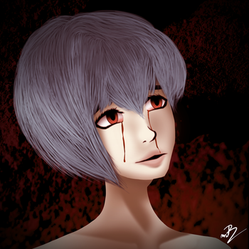 Ayanami Rei by MrRudy
