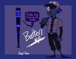 OTA: Batter Up! {CLOSED} by AdoptThem