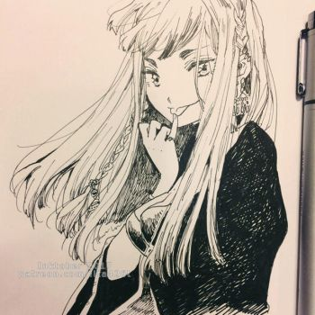 20171003 Inktober2017 Day03 by lita426t