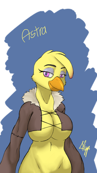 Dnd Astra the Chicken by TheFimp