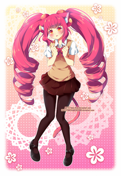 [Speedpaint] CM for PINKDIAMOND3000 by Neko-Rina