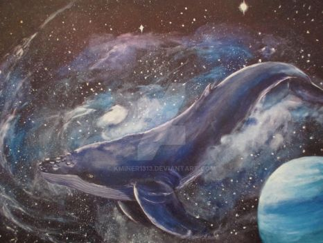 Space Whale by kminer1313
