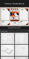 Stationery / Branding Mock-Up Vol.3 by Itembridge