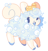 [Custom flufferbun] Bubble Baths by blushbun