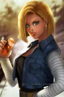 Android 18 by ChubyMi