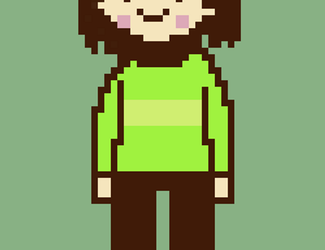 Stand-in Pixel Art - Chara by Triangle-cat