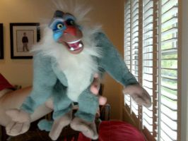 Rafiki Plushie by FireNationPhoenix