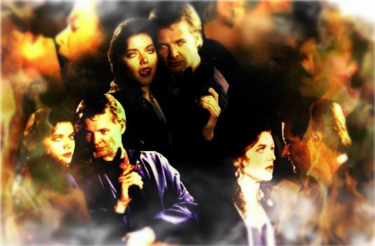 Forever Knight - Nick/Natalie Wallpaper by Time-In-Flux