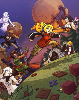 Iconoclasts fanart by Pehesse