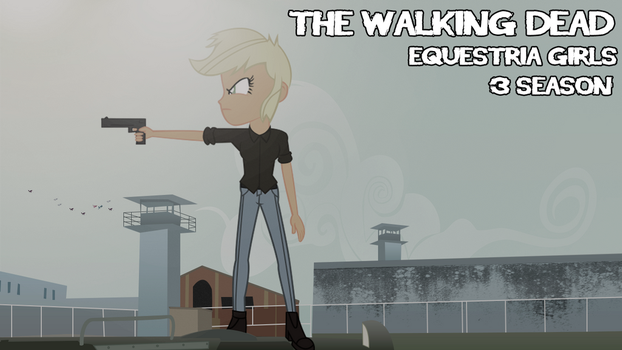 The Walking dead equestria girls poster by ngrycritic