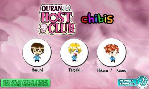 Ouran Host Club Chibis Series 1 by Project-Epiphany
