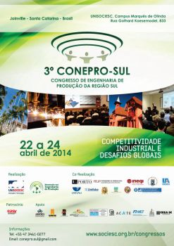 Cartaz CONEPRO-SUL 2014 by samantha-d