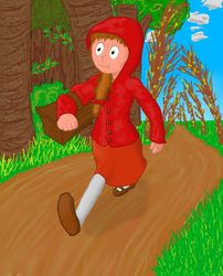 Little Red Riding Hood by RavenPencil