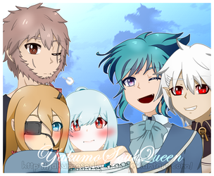 Family picture (sotra) by YakumoSoulQueen