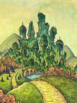 Emerald City by CorinneRoberts