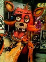 I see you Foxy (Color Pencil) by michaelnava715