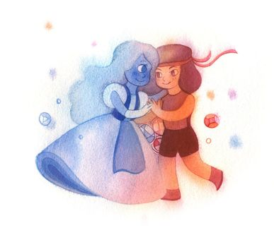 Sapphire and Ruby by WindOverTheWater
