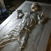 Han Solo In Carbonite by GourmetGamer