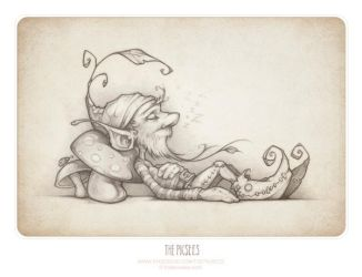 THE STORY OF THE LAZY GNOME. by thePicSees
