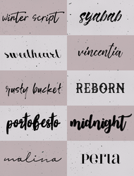 Fontpack02 by teamenti