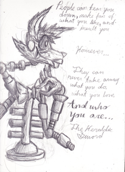 To pretty much everyone (FNaF Mangle) by The-Heraldic-Sword