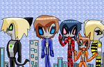 Miraculous Ultra Heroes by AnimeArtist154ever