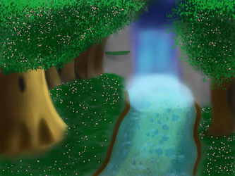 Forest of Evolution (WIP.) by Flamelight-Dash