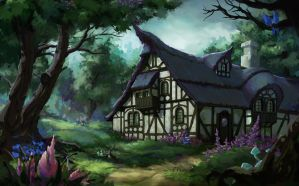 witch's house by Llyncis