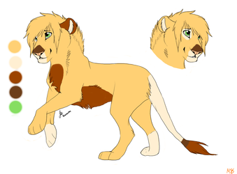 Lion Adoptables 3: CLOSED by MoonShineSTP