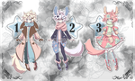 /Open/ Adoptables Flat Price Batch by gitsumi