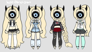 [outfit Set] - Sugarmonster46 [trade] by hello-planet-chan