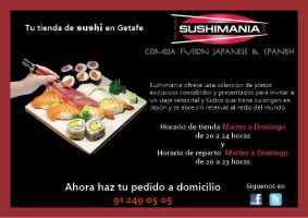 Diptico A5 Sushimania by PatriciaCG
