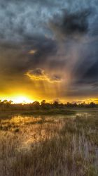 Green River Sunset by ecfield