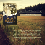 Advertising Blue Honor Quote - Social Media Post 2 by KWilliamsPhoto