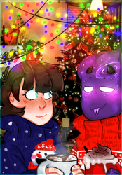 merry christmas and new year? by MilanaArt